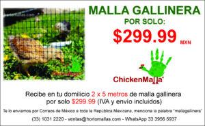 PROMOCION MALLA GALLINERA